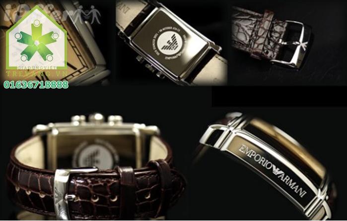 Chi tiết từng phần đồng hồ nam Armani AR0285