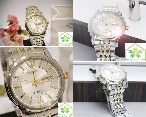 Tổng hợp hình ảnh đồng hồ Citizen NH8338-54A