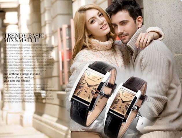 Đồng hồ Armani nữ AR0144 / AR0155 cặp đôi với AR0143 / AR0145