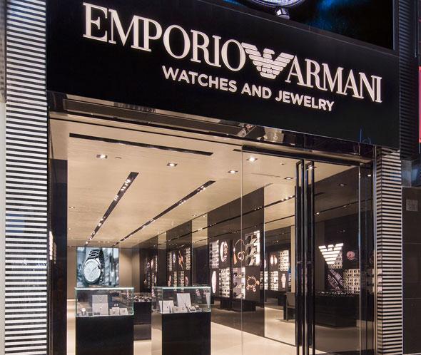 Trung tâm bảo hành chính hãng của Armani trên toàn cầu