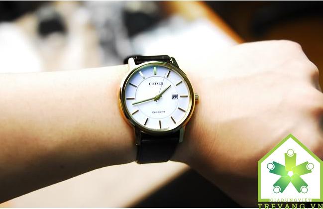 Thiết kế dây da đồng hồ citizen bm6753-00a