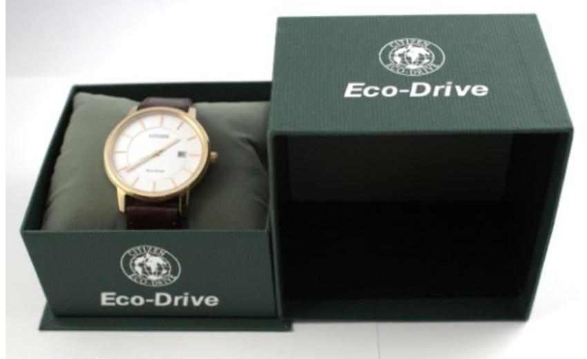 Đồng hồ BM6753-00A full box với hộp đựng sang trọng và thẻ bảo hành