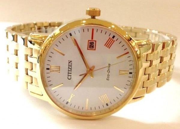 Đồng hồ Citizen BM6772-56A màu vàng tinh tế sang trọng,