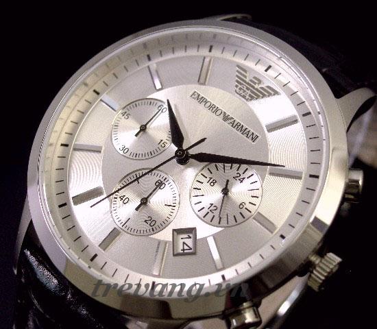 Đồng hồ Armani AR2432 với màu trắng sang trọng và trang nhã