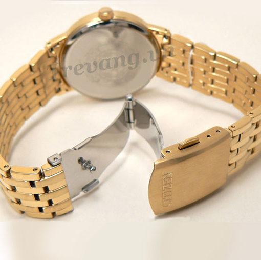 Đồng hồ Citizen BM6772-56A Gold chốt gập