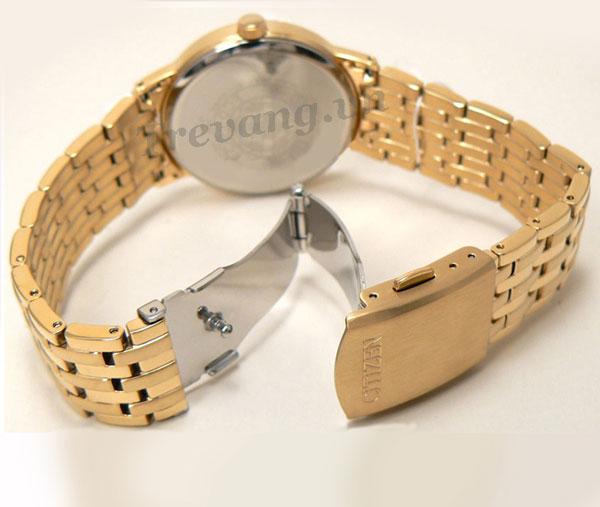 Đồng hồ nam Citizen BM6772-56A Gold chốt gập