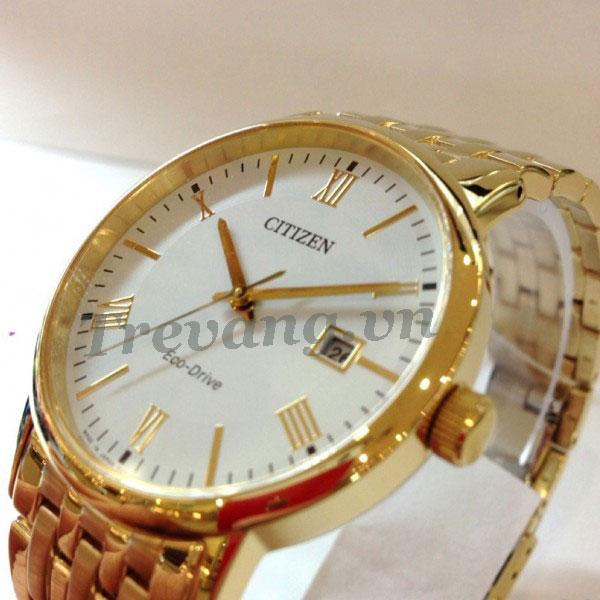 Đồng hồ nam Citizen BM6772-56A Gold chụp nghiêng
