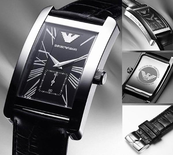 Chi tiết từng phần đồng hồ Armani nam AR0144