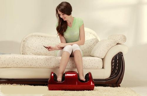 Đệm mát xa toàn thân Nhật Bản, ghế mát xa lưng, máy massage chân giảm đau