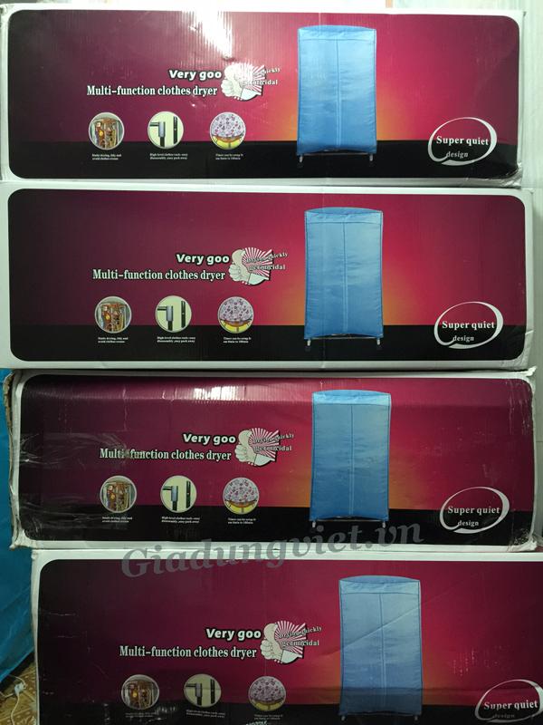 Tủ sấy quần áo Pusan KP-G90 hộp đựng