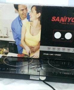 Mô hình bếp điện đôi từ và hồng ngoại saniyo fh2