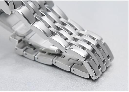 Đồng hồ Citizen NH8335-52AB dây đeo thép trắng không ghỉ