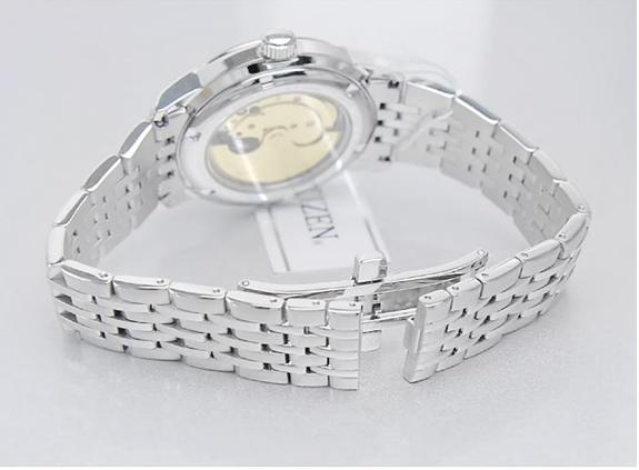 Đồng hồ nam Citizen NH8335-52AB với chuyển động cơ từ chuyển động tay của người sử dụng