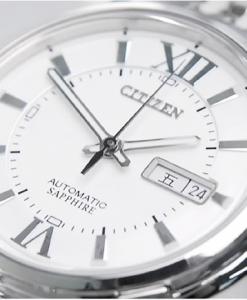Đồng hồ Citizen NH8335-52AB thiết kế mặt tròn truyền thống