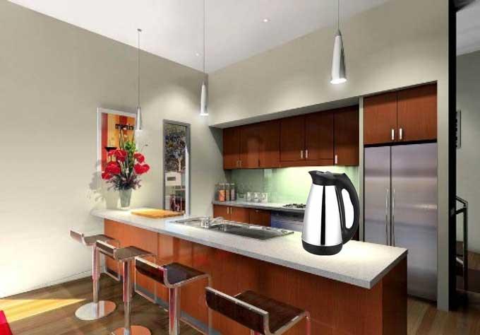 Phòng bếp đẹp bình đun siêu tốc Comet CM8215