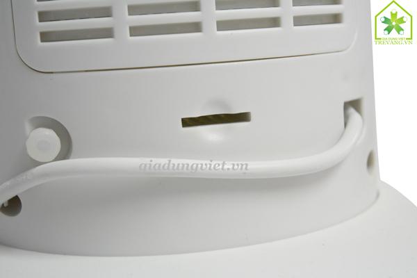 Quạt hơi nước Sanyo MF-1602R khe để sáp muỗi