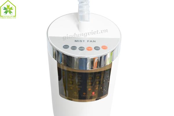 Quạt hơi nước Sanyo MF-1602R màn hình hiển thị LCD