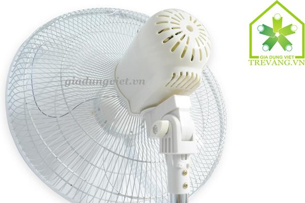 Quạt hơi nước Sanyo MF-1602R thiết kế mặt sau