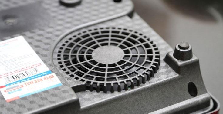 Bếp hồng ngoại Sunhouse SHD 6003 quạt gió tỏa nhiệt đảm bảo độ bền bếp