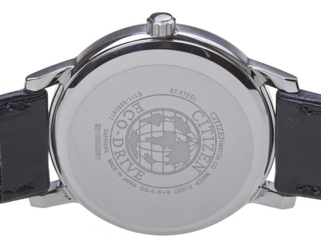 Mặt lưng dập chìm logo Đồng hồ Citizen BM6750 08A