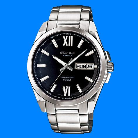 Đồng hồ nam CASIO EFB-100D-1AV Chính hãng thiết kế mặt đen