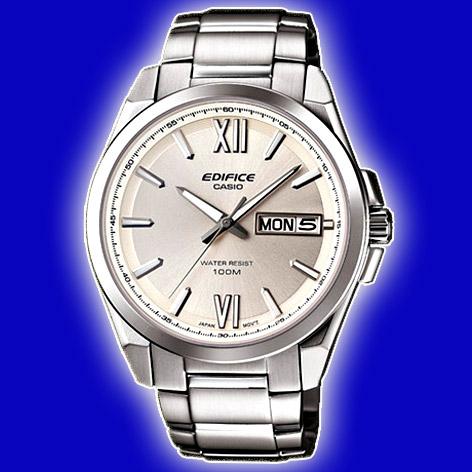 Đồng hồ nam CASIO EFB-100D-7AV Chính hãng thiết kế mặt trắng.