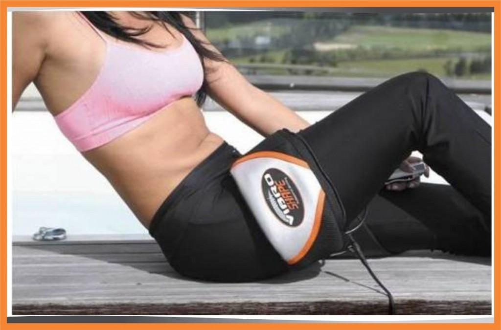 Máy massage bụng giảm béo Vibro shape dùng mọi vị trí