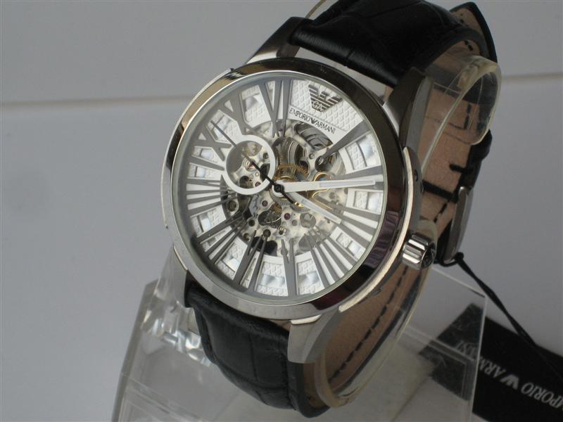 Đồng hồ nam Emporio Armani Italia AR4629 dây da lộ máy