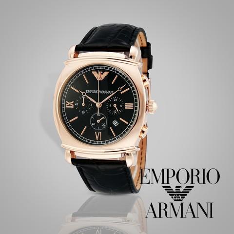 Đồng hồ nam vỏ mạ vàng phong cách AR0321 chín hãng Armani.