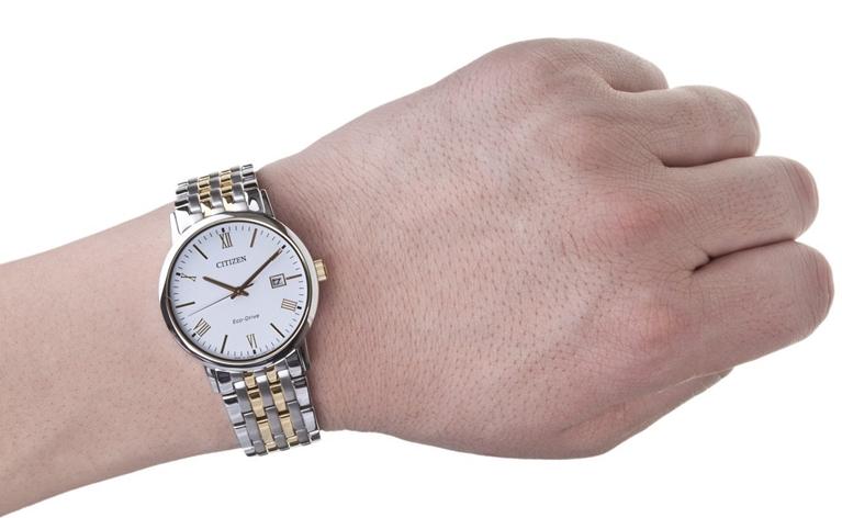 Đồng hồ nam Citizen BM6774-51F Eco-Drive lịch lãm
