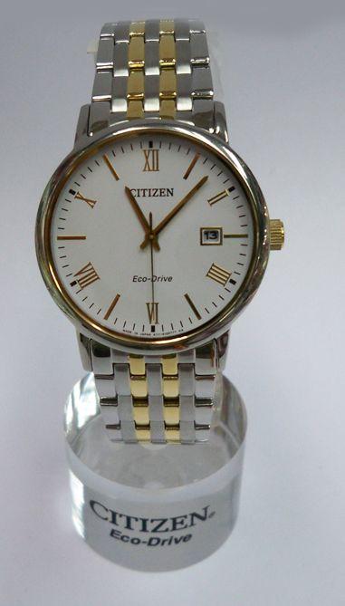 Đồng hồ nữ Citizen EW1584-59A dây kim loại sợi vàng, trắng