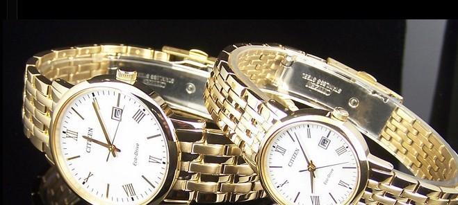 Cặp đôi đồng hồ Citizen BM6772-56A VÀ EW 1582-54A