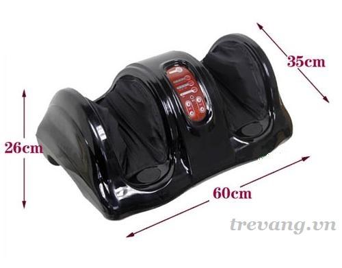 Máy massage chân Shachu SH-868 kích thước
