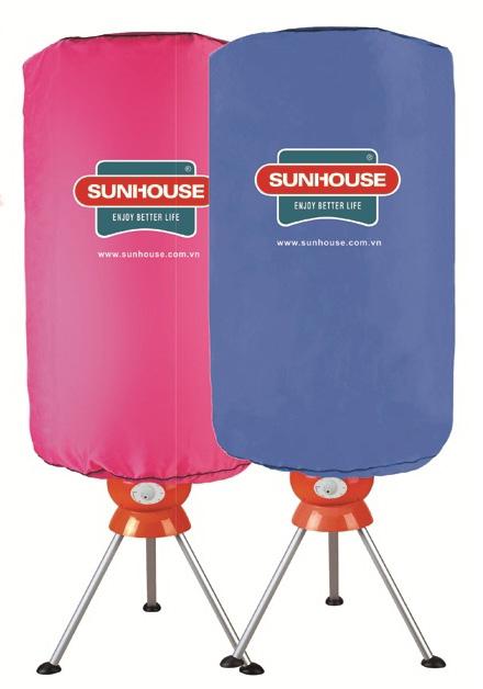 Máy sấy quần áo Sunhouse SH2616 tủ đứng tiết kiệm không gian