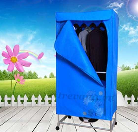 Máy sấy quần áo Pusan GY008F3 Hàn Quốc 2 tầng