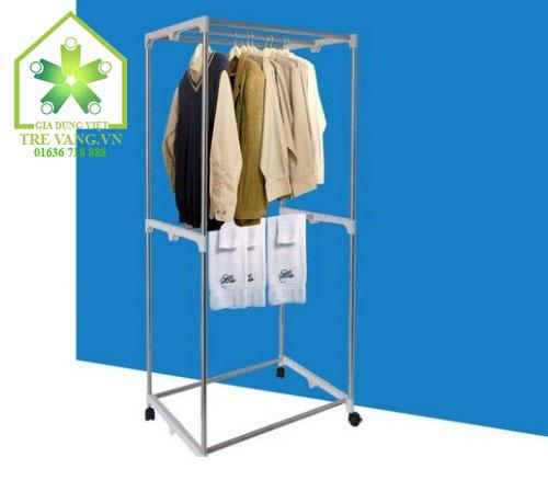 tủ sấy quần áo SOWUN SW 866 khung vuông