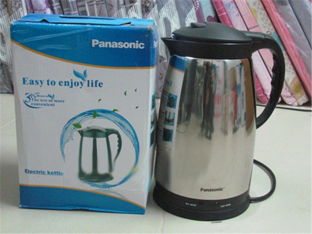 Ấm đun nước siêu tốc Panasonic 1,8L có kiểu dáng hiện đại