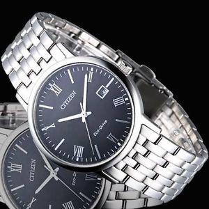 Đồng hồ nam Citizen BM6770-51E có mặt kính sapphier chống xước.