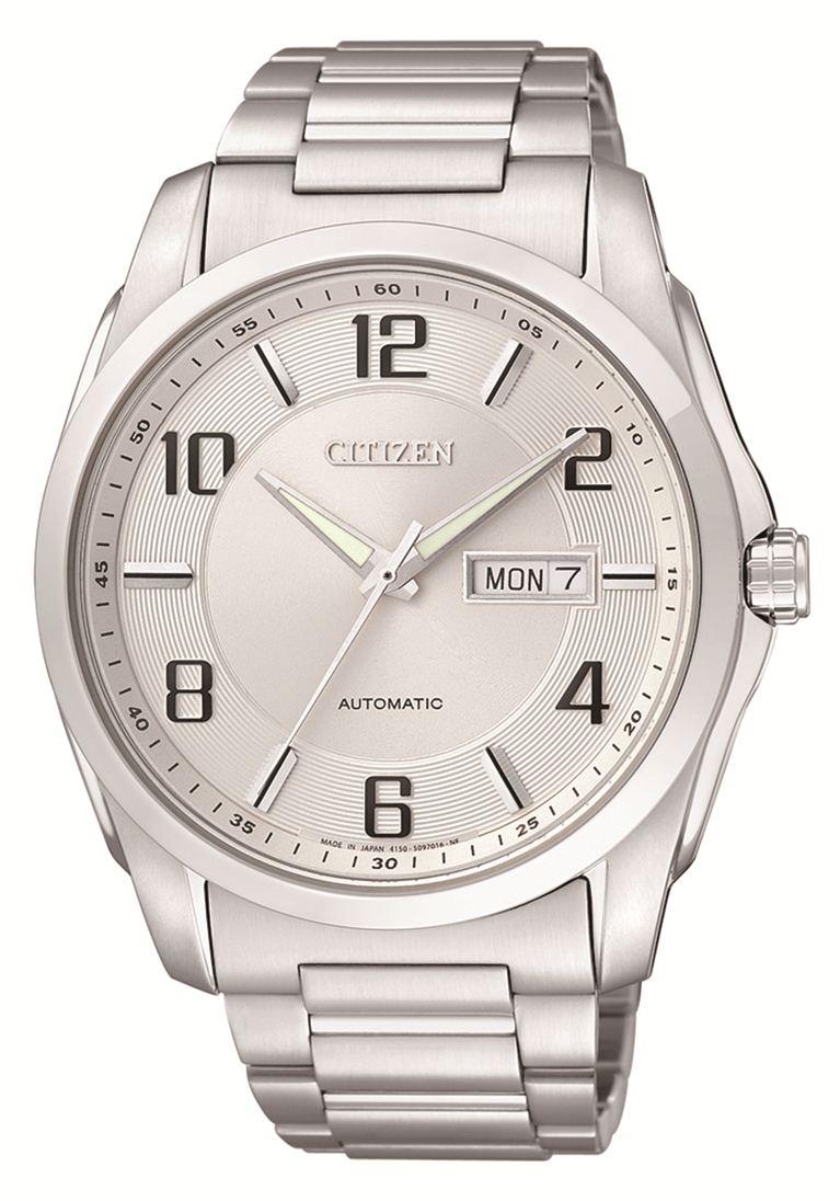 Đồng hồ Citizen NP402051A với thiết kế mặt tròn