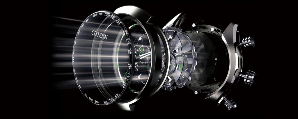 Dòng sản phẩm đồng hồ Citizen nam CA0346-59L công nghê tiên tiến Eco-drive