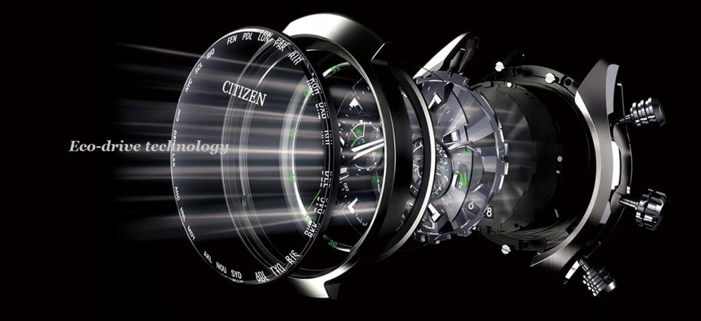 Dòng sản phẩm đồng hồ công nghệ Citizen_Eco-Drive