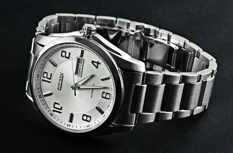 Đồng hồ nam Citizen NP4020-51A với dây thép không gỉ cao cấp