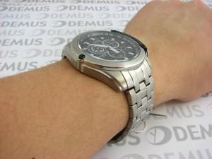 Đồng hồ Citizen Eco-drive nam AT0787-55F trên tay mẫu ảnh