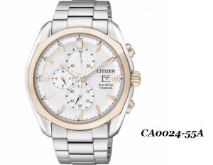 Đồng hồ đeo tay nam CA0024-55A mặt tròn