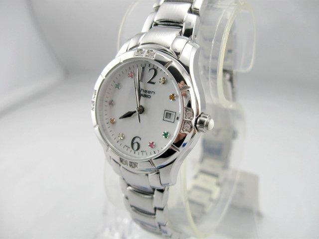 Đồng hồ Casio Sheen SHN-4019DP-7A nhẹ nhàng duyên dáng cho nàng Nhân mã