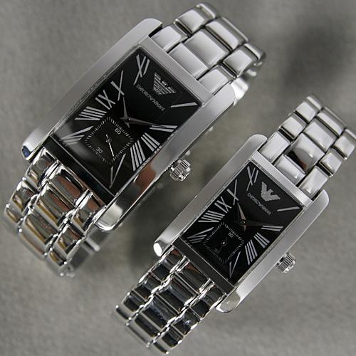 Đồng hồ đôi Armani AR0156 và AR0157.