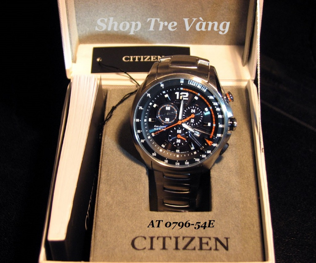 Đồng hồ nam Citizen AT0796-54E full box