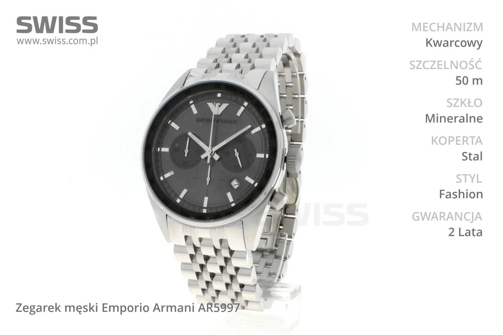 Đồng hồ nam Armani AR5997 dòng sản phẩm đồng hồ cơ từ ARMANI.