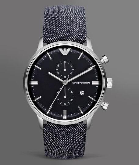 Đồng hồ nam AR1690 chính hãng Armani thiết kế đối lập.