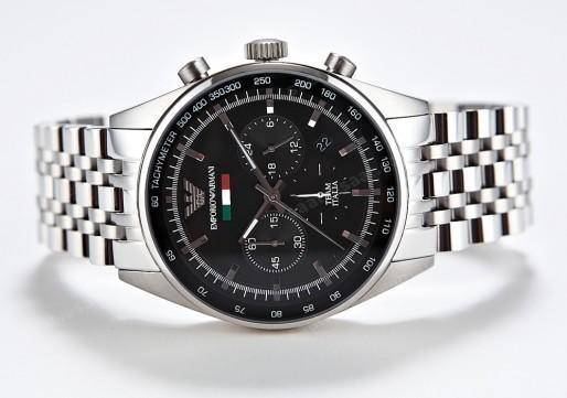 Đồng hồ nam chính hãng ARMANI AR5983 với 3 mặt số phụ hiển thị